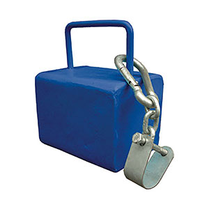 COUNTERBALANCE WEIGHT SPORTSHALL ANCHOR
