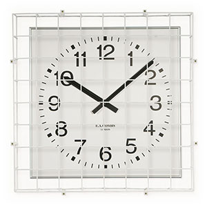 OPEN FACED CLOCK