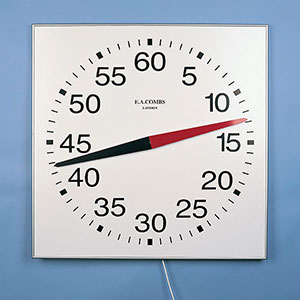 OPEN FACED PACE CLOCK