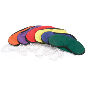COLOURED BLINDFOLD SET