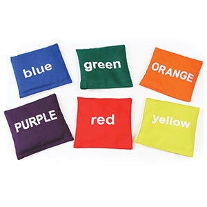 COLOURED BEAN BAGS