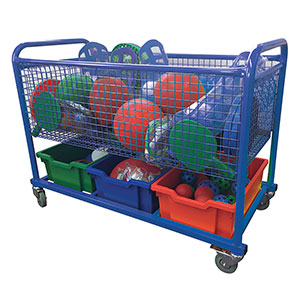 DELUXE EQUIPMENT TROLLEY