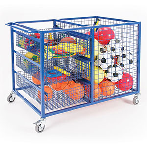 DELUXE SPORTS EQUIPMENT TROLLEY