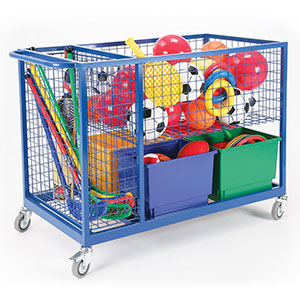 DELUXE STORAGE TROLLEY