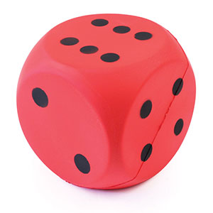 COATED FOAM DICE