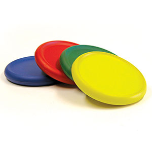 SKINNED FLYING DISCS