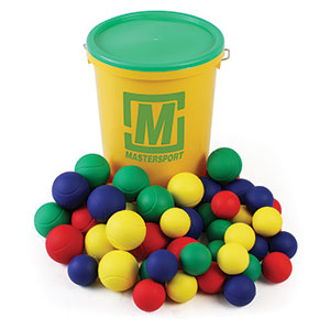 SKINNED FOAM BALL BUCKET OF 48