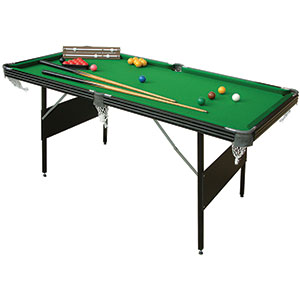 FOLDING CRUCIBLE SNOOKER / POOL TABLE