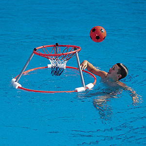 WATER BASKETBALL GOAL