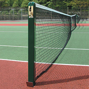 STEEL SQUARE TENNIS POSTS