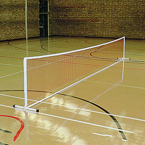FREESTANDING PRACTICE MINI TENNIS POSTS (NET AND POSTS)