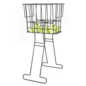 TENNIS BALL RETRIEVER BASKET PLASTIC COATED, HEAVY DUTY