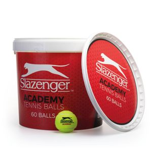 SLAZENGER VALUE BUCKET OF 60 TENNIS BALLS
