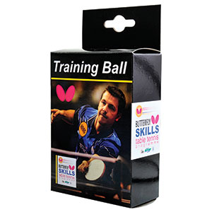 BUTTERFLY SKILLS YOUTH TRAINING TABLE TENNIS BALL