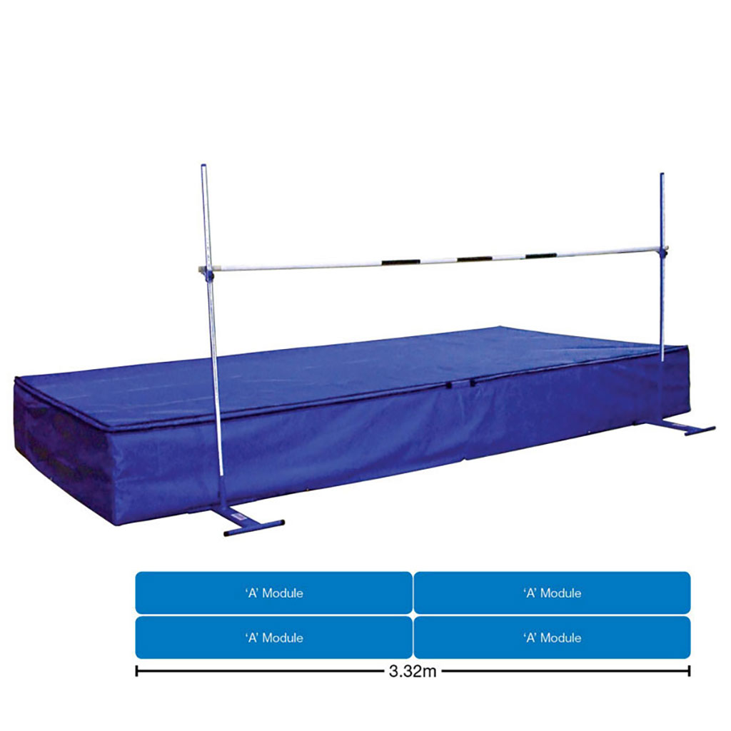JUNIOR SCHOOL HIGH JUMP LANDING AREA WITH WEAR SHEET