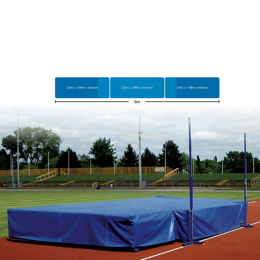 CLUB HIGH JUMP LANDING AREA WITH WEAR SHEET
