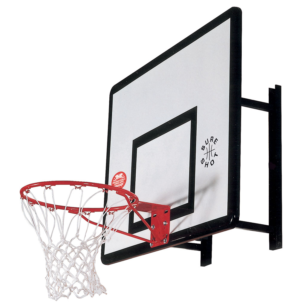SURE SHOT 533 HEAVY DUTY WALL MOUNT BASKETBALL UNIT