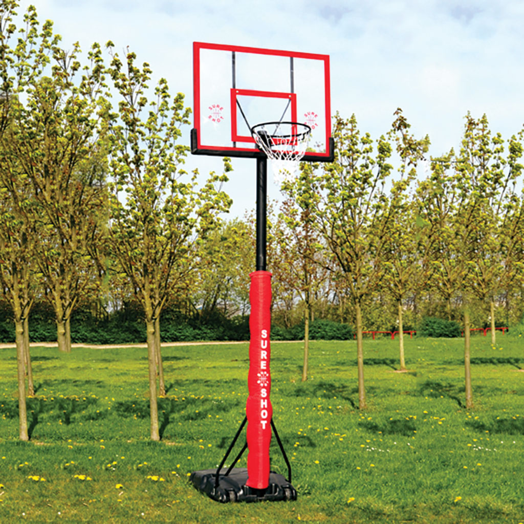 SURE SHOT 510 U JUST PORTABLE BASKETBALL UNIT