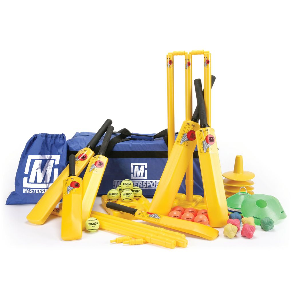 MASTERPLAY MIDI-CRICKET MIXED COACHING SET