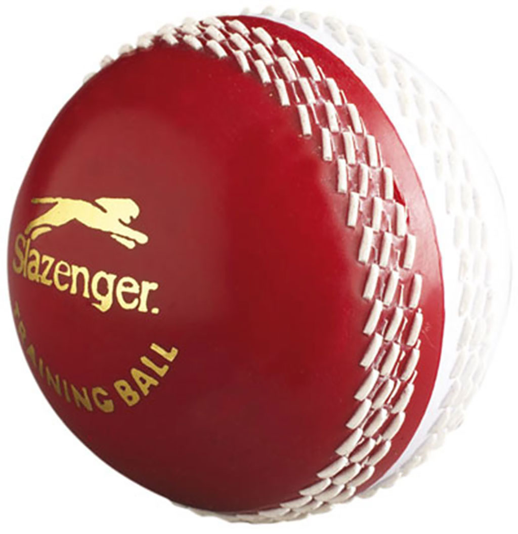 SLAZENGER TRAINING 4.5OZ CRICKET BALL
