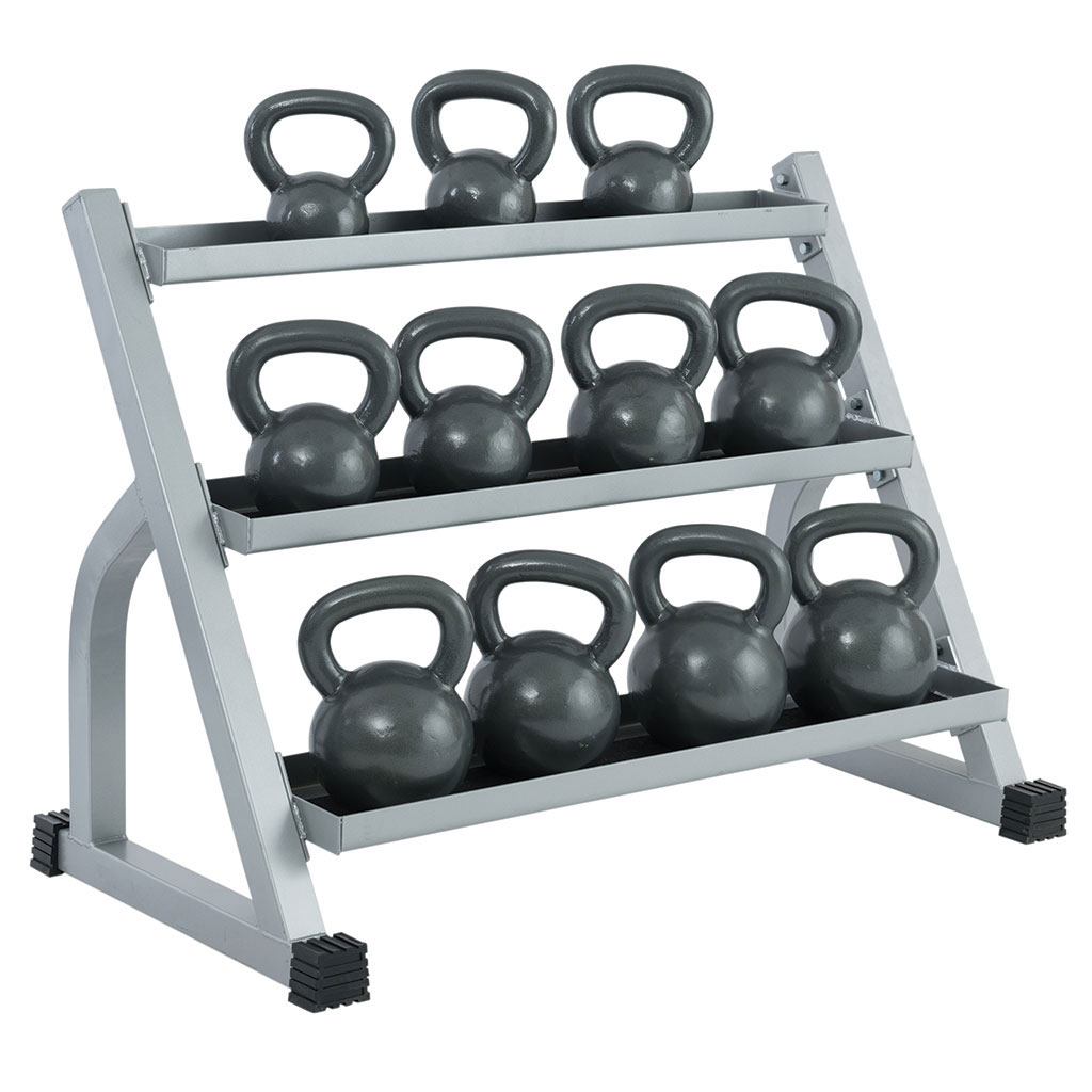 YORK 3 TIER KETTLEBELL RACK