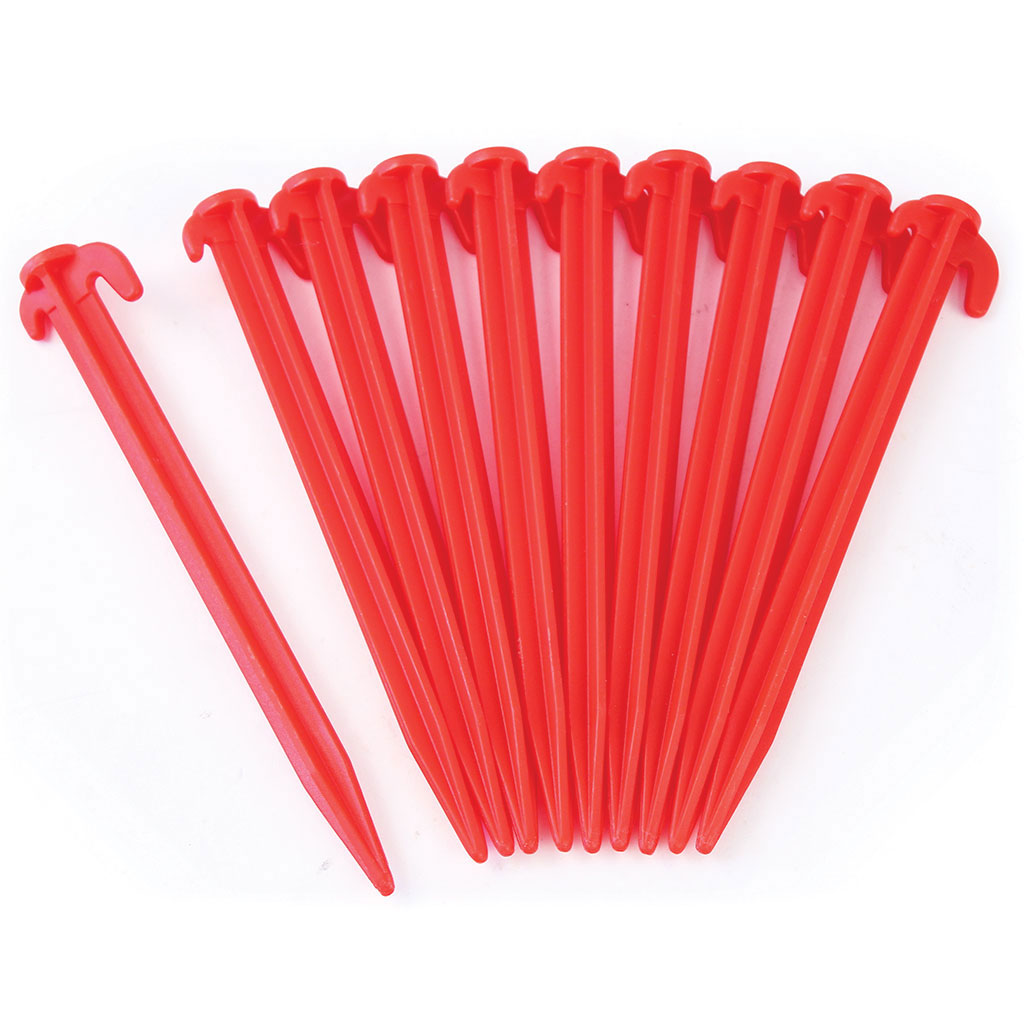 PLASTIC GOAL NET GROUND PEG