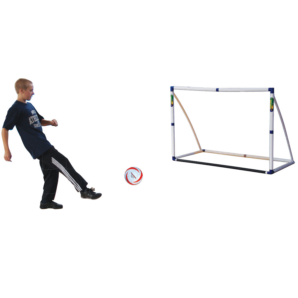 3 IN 1 TARGET SHOT, SOCCER GOAL AND REBOUND TRAINER