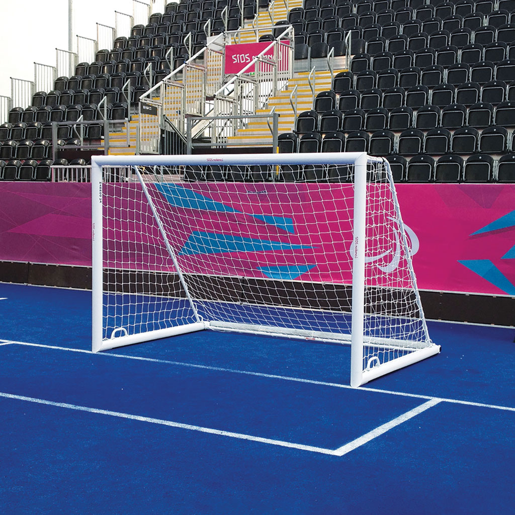 3G 'ORIGINAL' ALUMINIUM INTEGRAL WEIGHTED MINI SOCCER GOAL