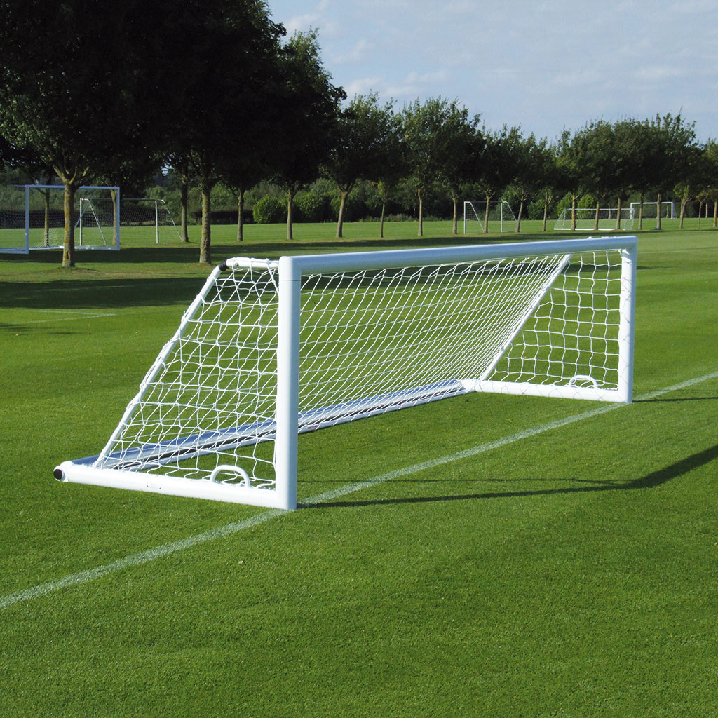 3G 'ORIGINAL' ALUMINIUM INTEGRAL WEIGHTED 5-A-SIDE FOOTBALL GOAL
