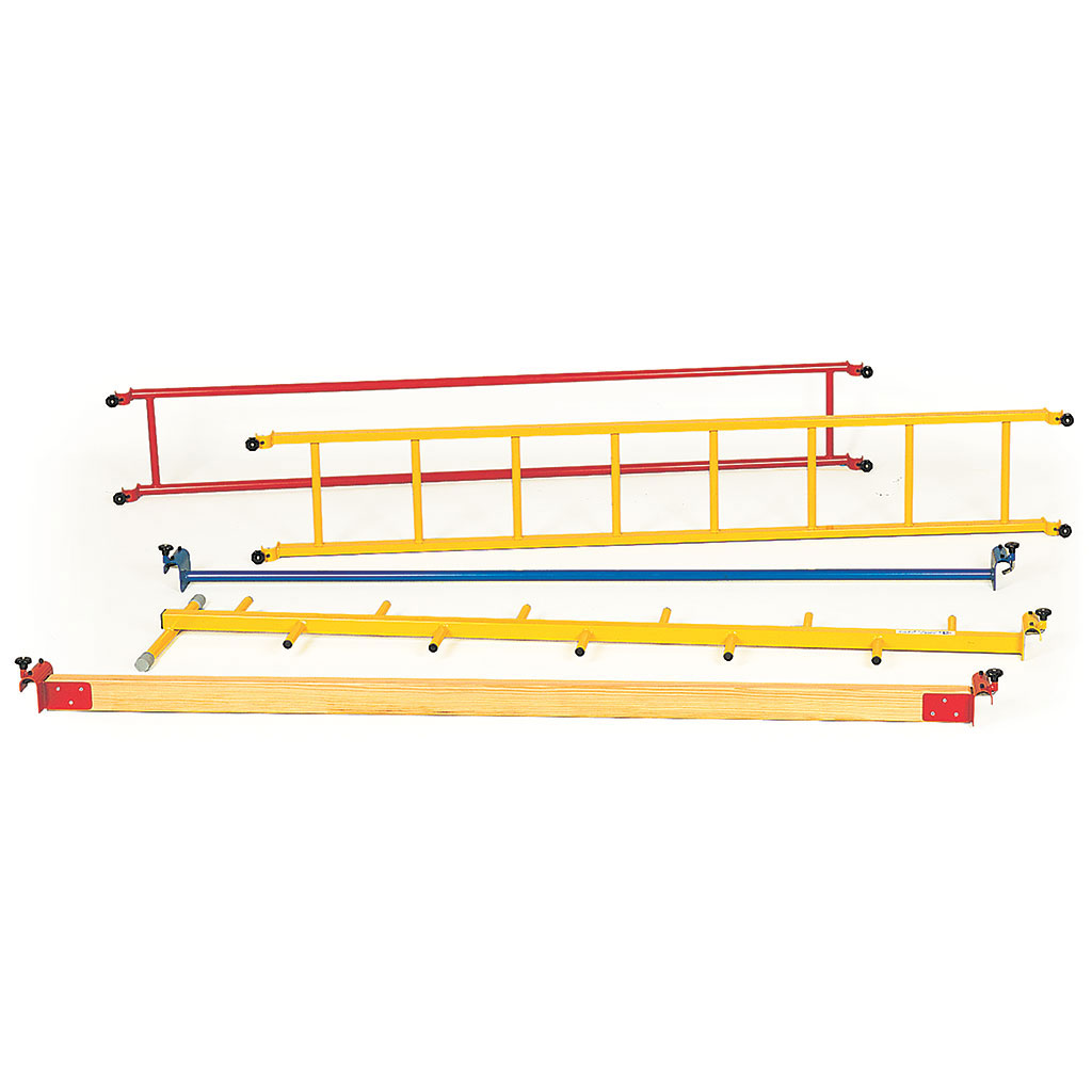 STANDARD TRIO FRAME ACCESSORY VERTICAL WALL FIXED LADDER