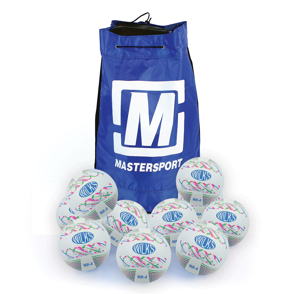 MASTERPLAY RUBBER NETBALL