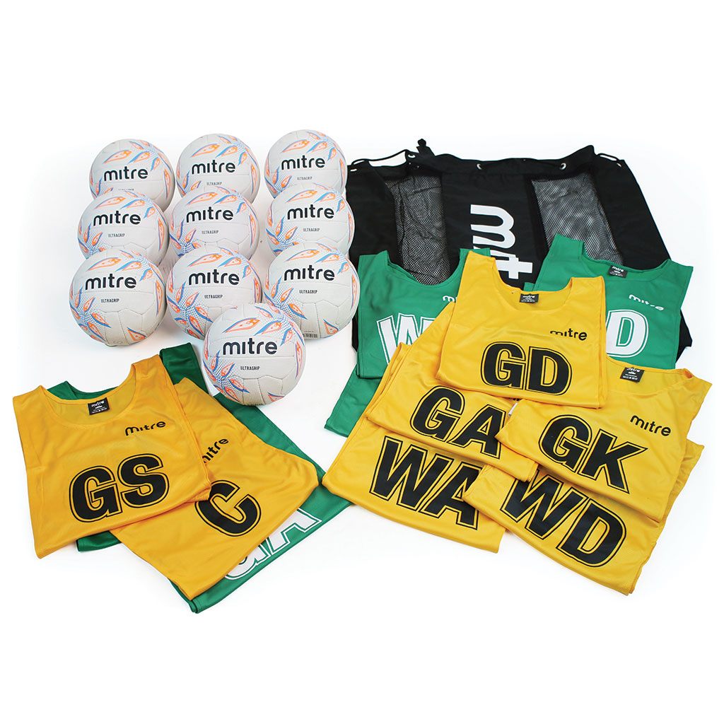 MITRE NETBALL TRAINING KIT