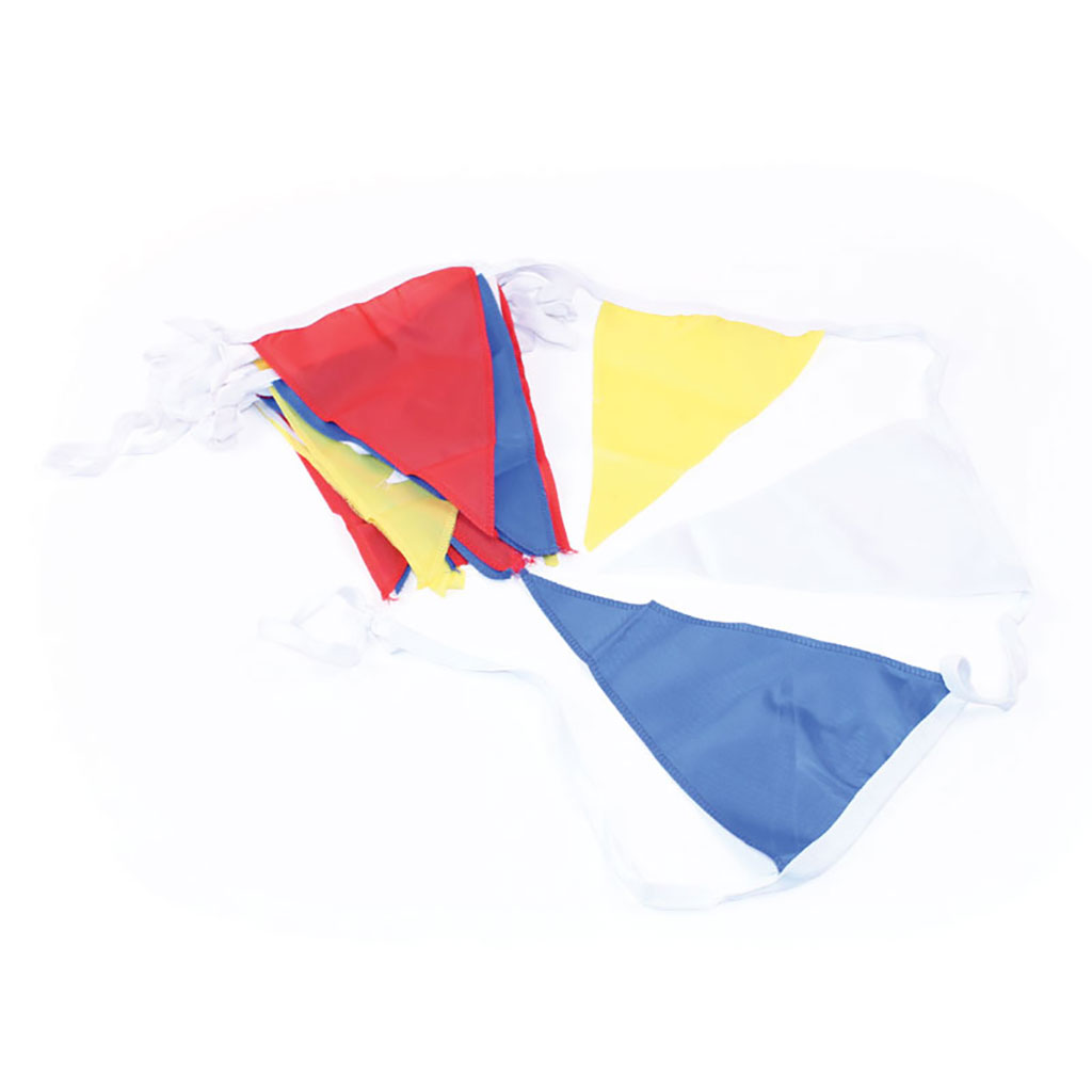 COLOURED NYLON BUNTING FLAG