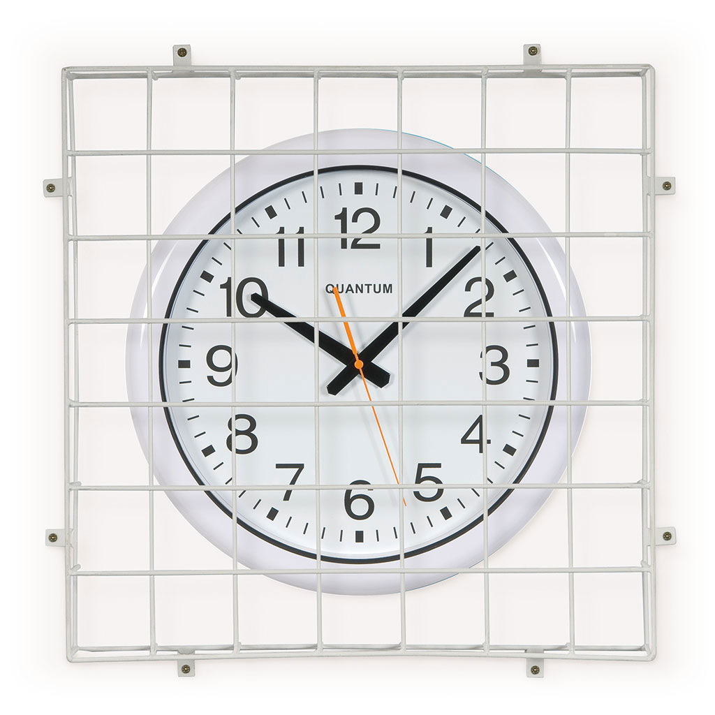 SPORTS HALL CLOCK 40CM DIA