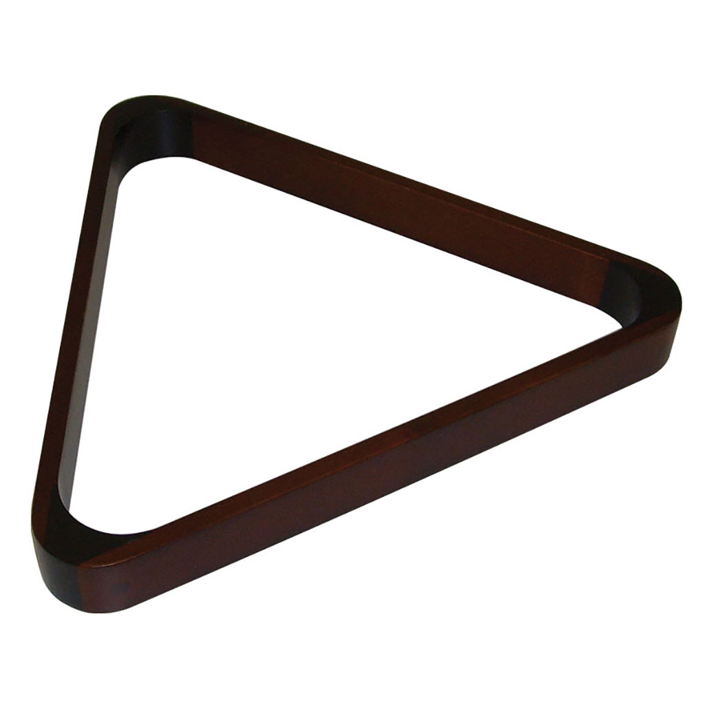 15-BALL WOODEN SNOOKER TRIANGLE