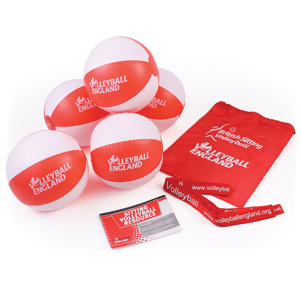 VOLLEYBALL ENGLAND SITTING VOLLEYBALL EQUIPMENT PACKAGE